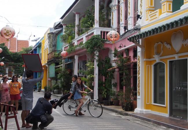 Phuket town – kerta riittää