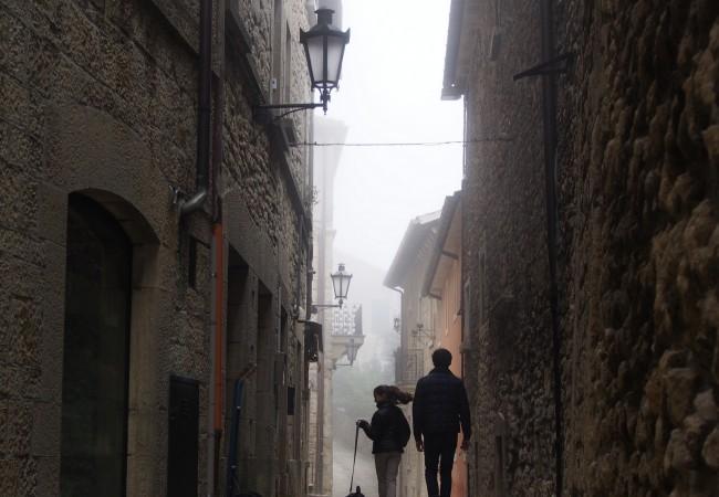 San Marino – sumuisen kukkulan kuningatar