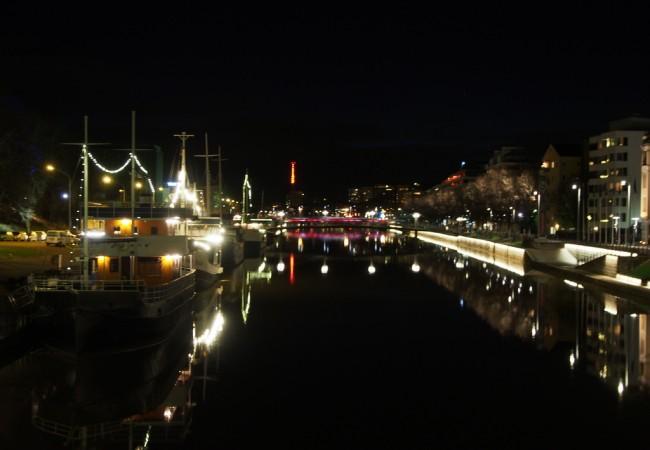 Tintå ja eurooppalainen jokiranta – iltapäivä Turussa