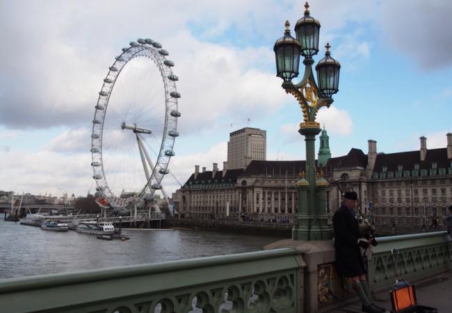 Pieni breikki Lontoossa