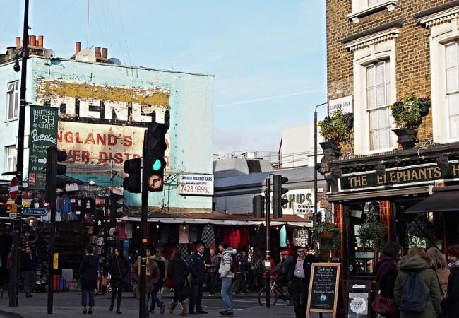 Lontoo – arkena avoinna olevia markkinoita