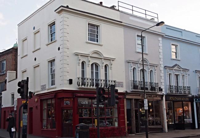 Notting Hill – leffaromantikon kaupunginosa