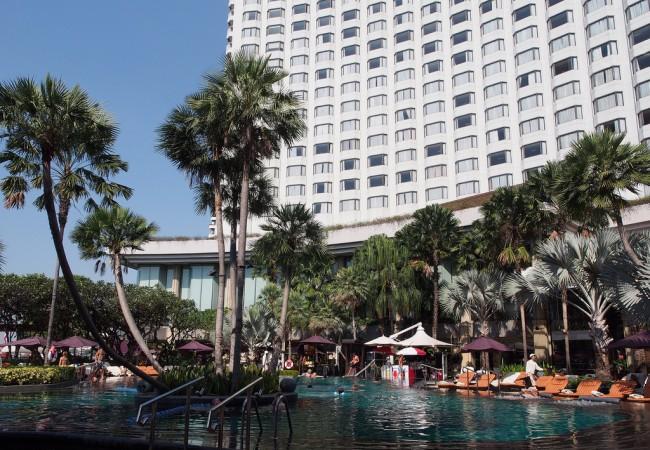 Shangri-la Bangkok, kun hotellilta ei voi enempää toivoa