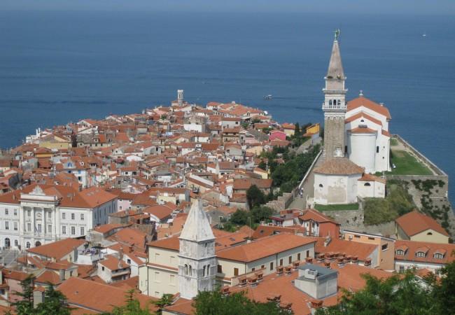 Piran, pala Slovenian rannikkoa