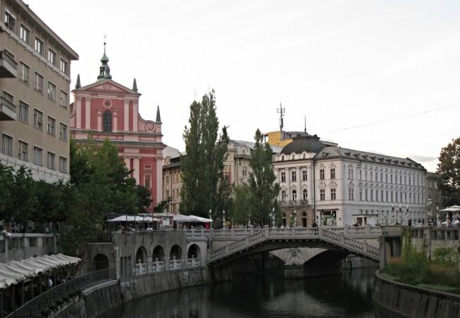 Muistojen Ljubljana