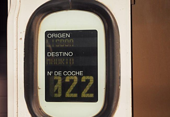 Aikuisten InterRail, osa 2. Yöjunalla Lissabonista Madridiin