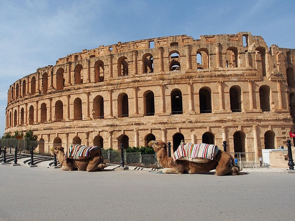 El Jem oli vaikeasti tavoitettavissa oleva UNESCO-helmi