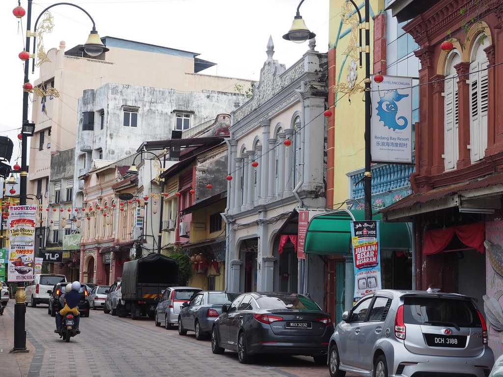 Kun yksi katu riittää – Jalan Kumpung Cina, Kuala Terengganu
