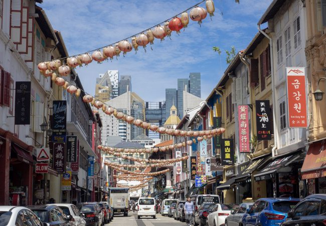 Singapore – etniset kaupunginosat Chinatown ja Little India