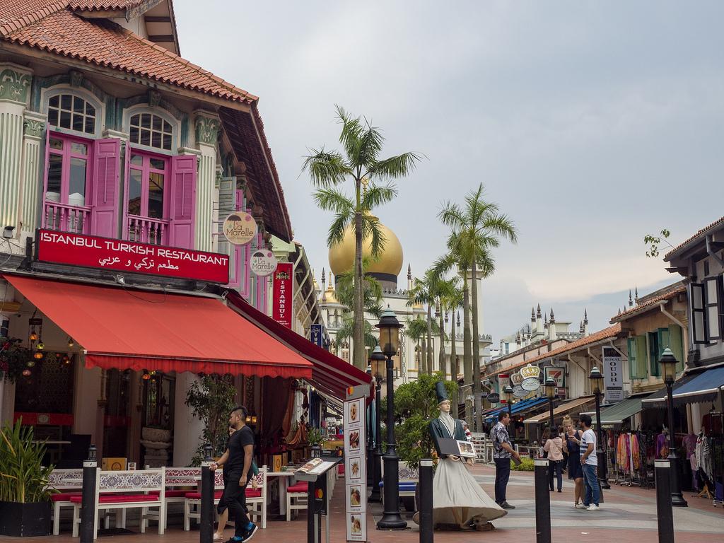 Singapore täynnä elämää