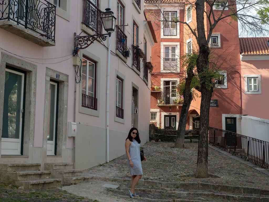 Lissabon päiväkirjat. Etätyöläinen Alfamassa