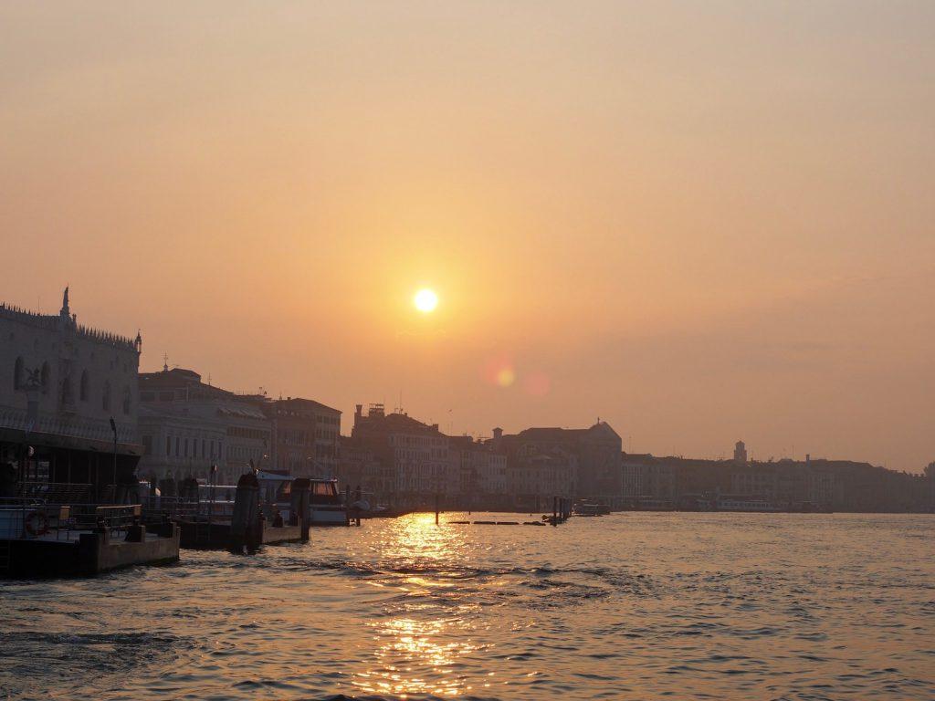 Kun Venetsia vasta herää