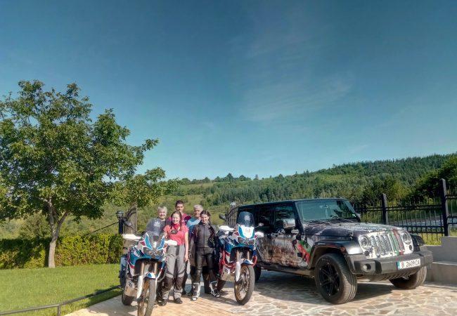Elämäni seikkailu – yli 1100 kilometriä moottoripyörällä Bulgariassa