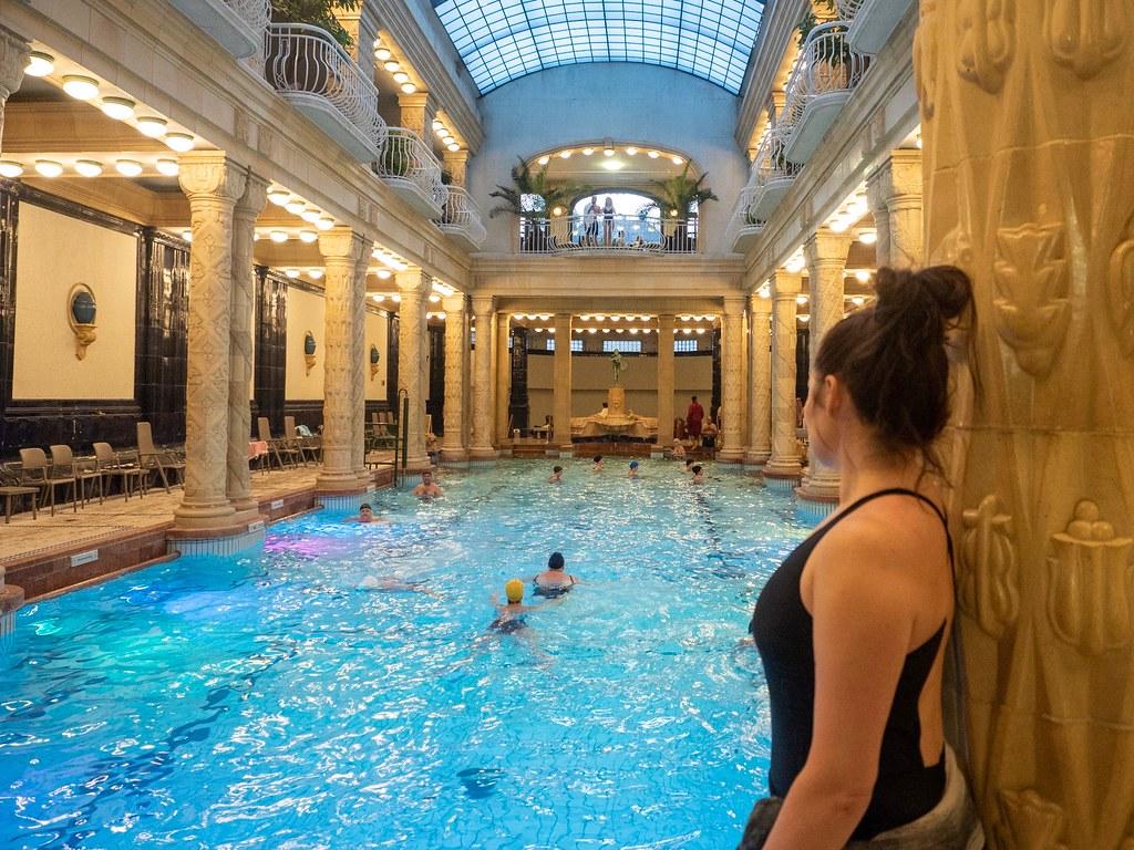 Kylpylöiden Budapest – kylpylöiden helmet Gellért ja Széchényi