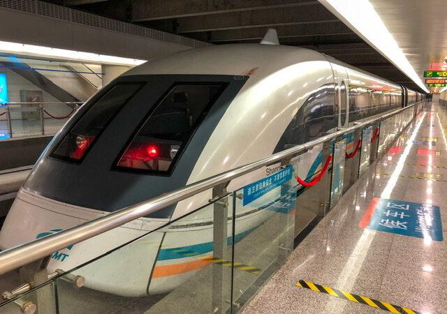 Maglev – maailman nopein juna sanovat