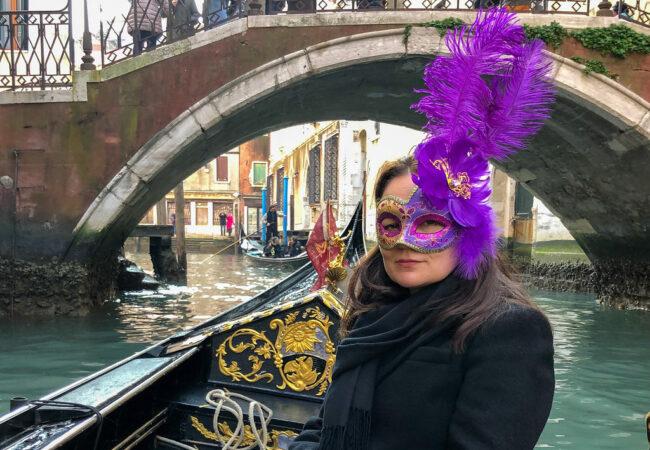Venetsian karnevaalit. Tunnelmia avajaisviikonlopulta
