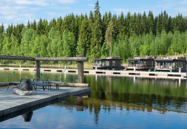 Järvisydän – aktiivista luksuslomailua Saimaalla